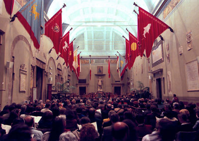 cep 03 - 2^ Stagione - '500 - Il Rinascimento in Europa - Campidoglio - Aula Giulio Cesare