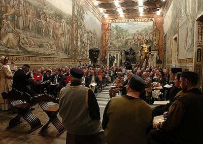 cep 27 - 9^ Stagione - '500 - Un musicista nel Rinascimento - Palazzo dei Conservatori - Sala degli Orazi e Curiazi