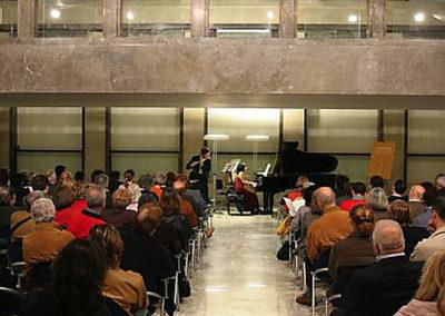 cep 36 - 10^ Stagione - '900 - Il virtuosismo nel repertorio flautistico del '900 - Palazzo degli Uffici dell'Eur - Salone delle Fontane