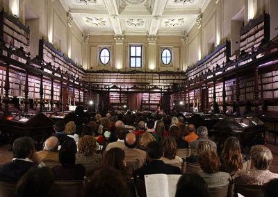 cep 50 - 14^ Stagione - '600 - Sulla riva dorata dell'orgoglioso Tebro - Biblioteca Vallicelliana - salone Borromini