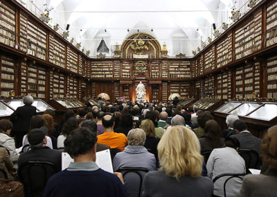 cep 51 - 14^ Stagione - '700 - Prima la musica poi le parole A. Salieri - Biblioteca Casanatense - Salone Monumentale