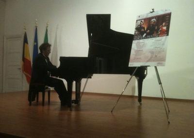 cep 58 -  15^ Stagione - '900 - Novecento che passione - Accademia di Romania - pianista M° Michele Francesco Battista