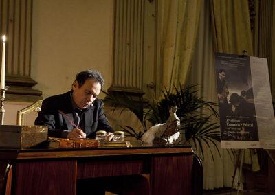 cep 66 - 17^ Stagione - '800 - Italy, Giovanni Pascoli uomo d'oggi - attore Ennio Coltorti - Villa Brancaccio - Salone d'Onore