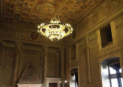 cep 70 - 18^ Stagione - '500 - Racconto di un musico Principe, Gesualdo da Venosa - Palazzo Venezia - Sala del Mappamondo