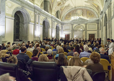 cep 73 - 18^ Stagione - '800 - Bicentenari, Verdi e Wagner - basso Andrea Mastroni - MIBAC - Sala Storica del Consiglio Nazionale