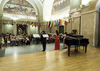 cep 74 - 18^ Stagione - '900 - Musical e dintorni - Palazzo Piacentini - Salone d'Onore