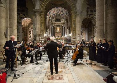 gmc 01 - Santa Maria del Popolo - Roma 15-12-2012 Un Natale Particolare attore Franco Castellano, Caravaggio Orchestra direttore M° N. Samale testi di I. Battista