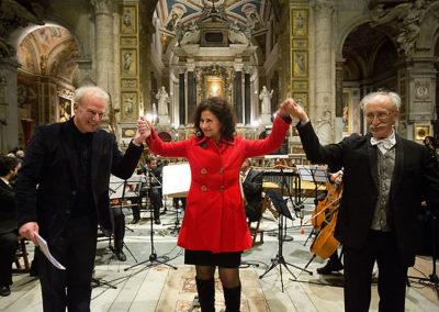 gmc 03 - Santa Maria del Popolo - Roma 15-12-2012 Un Natale Particolare attore Franco Castellano, Caravaggio Orchestra direttore M° N. Samale testi di I. Battista