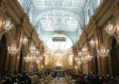 gmc 07 - Basilica Santi Giovanni e Paolo al Celio - Roma 22-12-2005 Coro e Orchestra Conservatorio di Cosenza