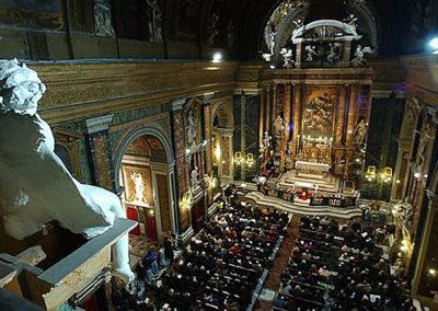 gmc 13 - Chiesa Gesù e Maria - Roma 4-01-2002 tromba R. Suchan organo I. Sokol