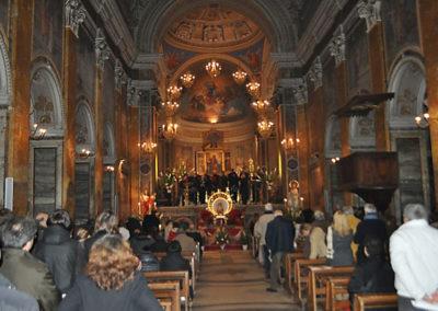 gmc 15 - Concattedrale Maria Assunta e Santa Anastasia - Nepi 2-01-2011 Saint Paul's Choir organo C. Accardi Direttore S. Vasselli