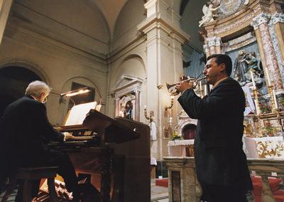 gmc 17 - S. Francesco a Ripa - Roma 02-01-2001 tromba M.Maur organo L. Celeghin