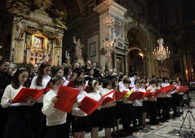 gmc 20 - S. Maria in Ara Coeli - Roma 20-12-2008 Coro di Voci Bianche