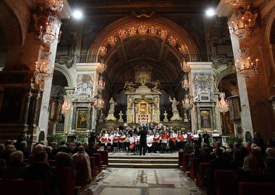 gmc 21 - S. Maria in Ara Coeli - Roma 20-12-2008 Cori Voci Bianche e Polifonico
