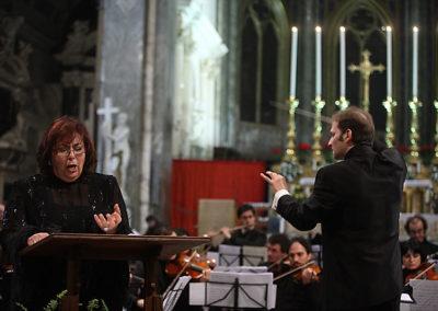 gmc 22 - S. Maria sopra Minerva - Roma 6 -01-2009 Direttore David Crescenzi - Mezzosoprano Elisabetta Fiorillo