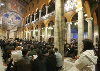 gmc 44 - Santa Maria Addolorata - Roma 18-12-2007 Gruppo Cedric Shannon & High Praise Gospel Singers