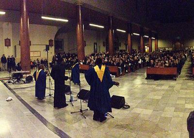 gmc 45 - Santa Maria Consolatrice - Roma 22-12-2012 Pastor Ron Gospel Show