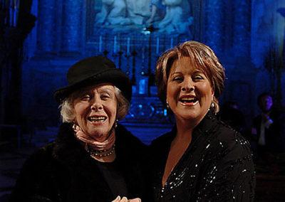 gmc 47 - Santa Maria degli Angeli - Roma 6-01-2004 soprano Luciana Serra con il mezzosoprano Giulietta Simionato ospite d'onore