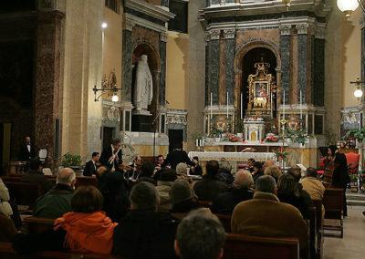 """gmc 56 - Santa Maria delle Grazie alle Fornaci - Roma 19-12-2005 """"Melos Ensemble"""""""