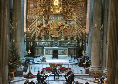 gmc 57 - Santa Maria in Portico in Campitelli - Roma 29-12-2007 Gruppo di Ottoni