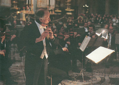 gmc 59 - Santa Maria Maggiore - Roma 1-01-1992 flauto traverso Severino Gazzelloni