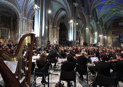 gmc 63 - Santa Maria sopra Minerva - Roma 6-01-2011 M° M.F. Boemi Caravaggio Orchestra