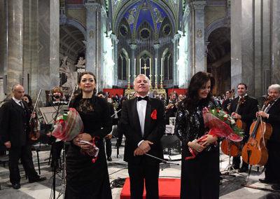 gmc 64 - Santa Maria sopra Minerva - Roma 6-01-2011 soprano Anna Carbonera M° M.F. Boemi soprano Marta Calcaterra Caravaggio Orchestra