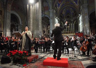 gmc 65 - Santa Maria sopra Minerva - Roma 6-01-2012 soprano Inés Salazar Caravaggio Orchestra M° Nicola Samale