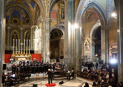 """gmc 66 - Santa Maria sopra Minerva - Roma 6-01-2013 Concerto dell'Epifania """"Omaggio a Sua Santità Benedetto XVI"""""""