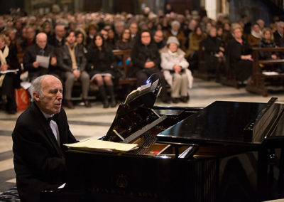 """gmc 67 - Santa Maria sopra Minerva - Roma 6-01-2013 pianista Bruno Canino concerto dell'Epifania """"Omaggio a Sua Santità Benedetto XVI"""""""