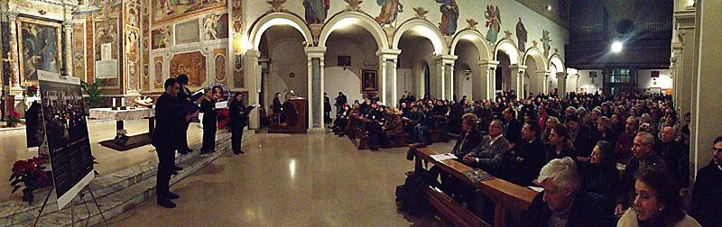 gmc 69 - Santa Prisca - Roma 3-01-13 Saint Paul's Soloists direzione ed organo S. Vasselli