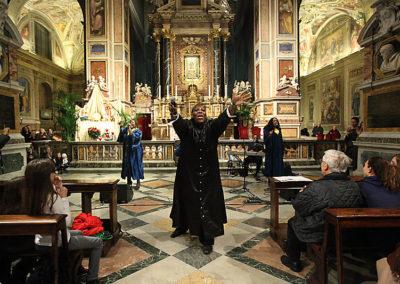gmc 70 - Sant'Agostino in Campo Marzio - Roma 23-12-2011 Gruppo gospel The Woman of God