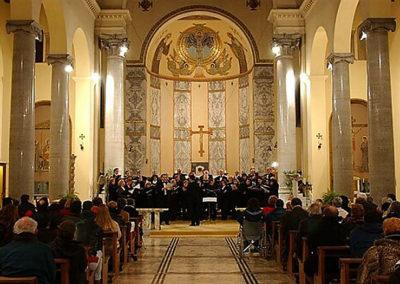 gmc 72 - Sant'Anselmo - Roma 21-12-2001 Cori Mélos Ensemble e Cantate Domino