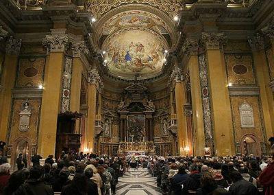 gmc 74 - Santi Biagio e Carlo ai Catinari - Roma 28-12-2004 Orchestra giovanile Chotebor