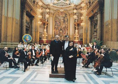 gmc 76 - Santi XII Apostoli - Roma 7-01-2001 attore Arnoldo Foà