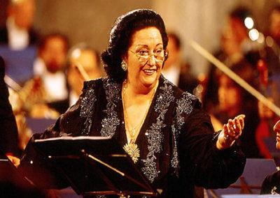 gmc 79 - Sant'Ignazio di Lojola - Roma 21-12-1992 soprano Montserrat Caballè