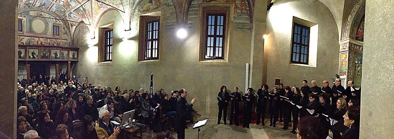 gmc 80 - Sant'Oliva - Cori (LT) 30-12-2012 direttore G. Monti Coro Polifonico Lumina Vocis