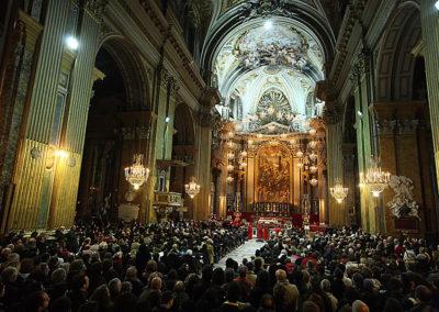 gmc 84 - Roma, Chiesa Santi XII Apostoli 27 12 2008 Grande Musica in Chiesa 2008/09 Concerto dell'Harlem Messangers of New Yok.