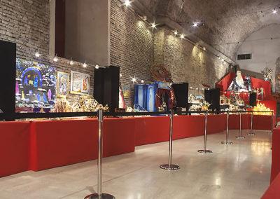 pre 27 - Interno delle Sale del Bramante sede dell'Esposizione