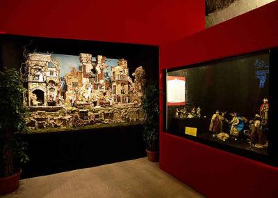 pre 29 - Interno delle Sale del Bramante sede dell'Esposizione