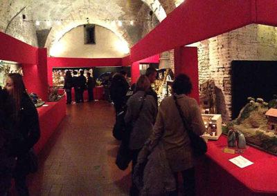 pre 30 - - Interno delle Sale del Bramante sede dell'Esposizione