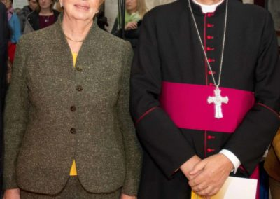 pre 39 - 38a edizione 2013 - S.E. Claudio Maria Celli Presidente del Pontificio Consiglio delle Comunicazioni Sociali e Dr.ssa Mariacarla Menaglia