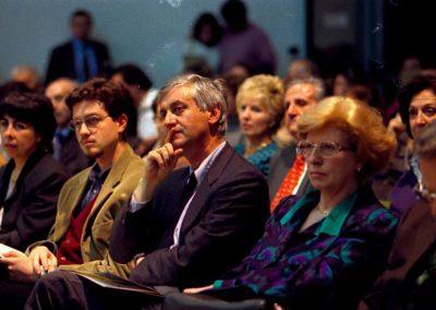 rdn 04 - Concerti e Palazzi 1998 - On. Piero Badaloni Presidente della Regione Lazio e Dott. Mariacarla Menaglia