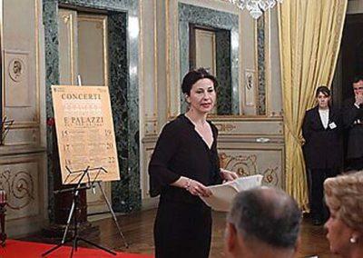 rdn 06 - Il Direttore Artistico Imma Battista presso Sede dell'Ambasciata di Spagna presso la Santa Sede