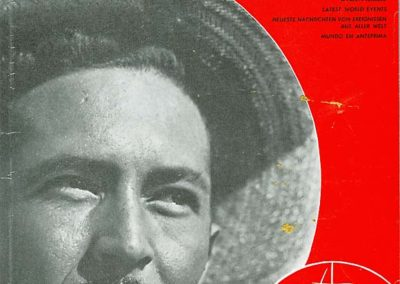"""rdn 15 - La copertina del primo numero della """"Rivista delle Nazioni"""" del 1° Gennaio 1968"""