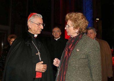 rdn 18 - Santa Maria degli Angeli 2005 S.E.R. Dario Cardinale Castrillon con il Direttore della Rivista delle Nazioni Dott.ssa Mariacarla Menaglia