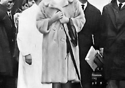 rdn 20 - Sofia Loren, Vittorio de Sica ed il Dott. Manlio Menaglia durante la Campagna sociale per la donazione del sangue organizzata dal nostro fondatore