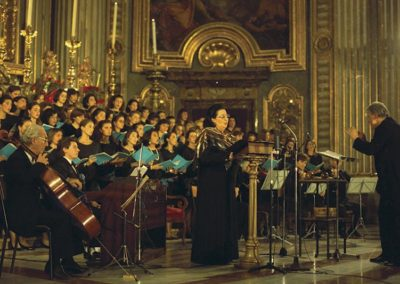 gmc 001 - Sant'Ignazio di Loyola - Roma 21-12-1992 soprano Montserrat Caballé, direttore Pablo Colino, Coro femminile dell'Accademia Filarmonica Romana