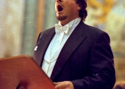 gmc 85 - Santa Maria degli Angeli - Roma 6-01-1999 - tenore Pietro Ballo